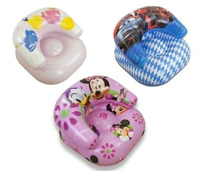 Disney Inflatable Moon Chair Seat Minnie Mouse Princess Cars PVC Childrens Kids