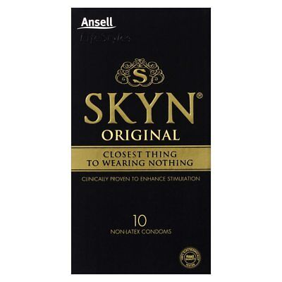 NEW Ansell Lifestyle Condoms SKYN 10 Pack