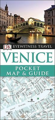 Venice Pocket Map and Guide (DK Eyewitness Travel Guide), DK Travel, New Book
