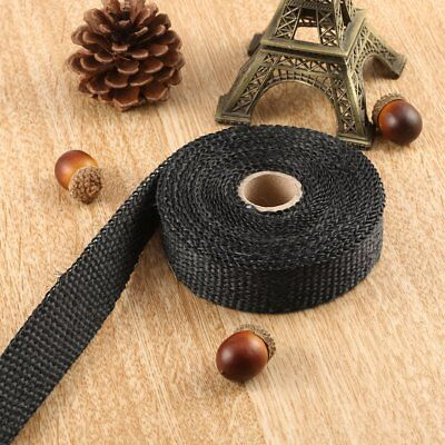 Motorcycles Turbo Manifold Heat Exhaust Wrap Tape Thermal Stainless Ties Bl TOP