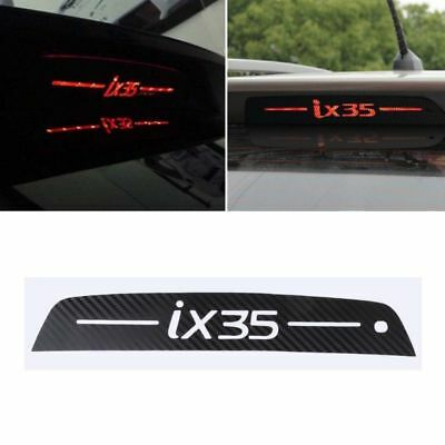 HYUNDAI TUCSON iX35 HIGH LEVEL BRAKE LIGHT CARBON FIBRE DECAL UPGRADE COOL LOOK