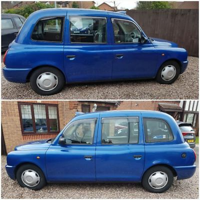 2010 London Taxi LTI TX4 Manual Engine & Rear Axle Replaced Full Service History