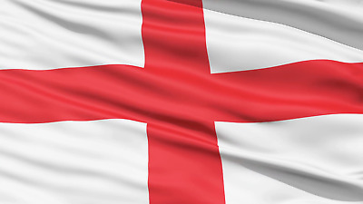 England Flag 5ft x 3ft St George Cross English Football Rugby - Its Coming Home