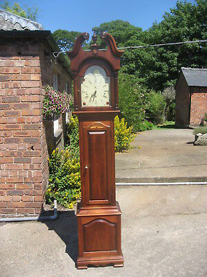 Grandfather Clock By Howard  Miller Cost Over £2,500.00 When New Superb /4072