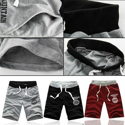 Summer New Men Casual Sports Beach Shorts Five Sub Pants Waistband Classic NP