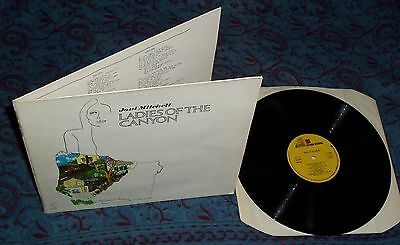 "LP JONI MITCHELL: ladies of the canyon (FOC, ""big yellow taxi"", ""woodstock"")"