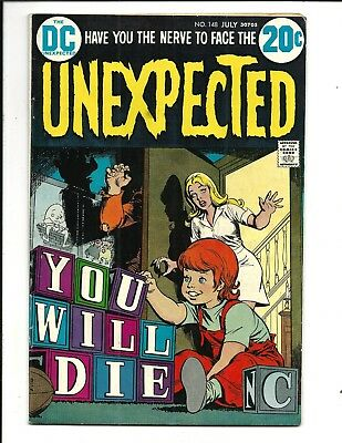 The Unexpected # 148 (July 1973) Fn/vf