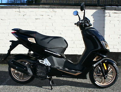 PEUGEOT SPEEDFIGHT 4 125cc ROSE GOLD SCOOTER BRAND NEW ZERO MILES - UNREGISTERED