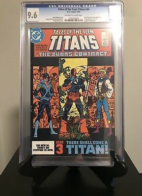 Tales of The Teen Titans #44 CGC 9.6.  Dick Grayson a Nightwing.