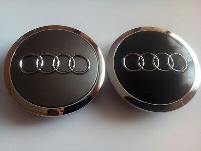 4sutks/ 4pcs. 69/60mm Wheel hub Center Caps AUDI  Nabenkappen Nabendeckel
