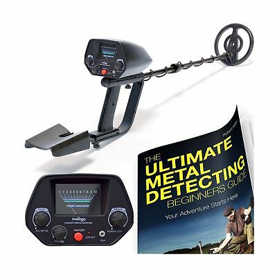 NHI Classic Metal Detector With Pinpointer - All Terrain Waterproof Search Co...