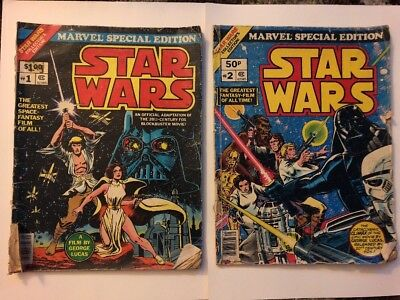 Marvel Special Edition #1 Star Wars Collector's Edition Comic 1977