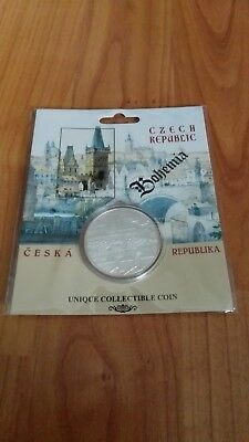 bohemia czech republic unique collectible coin MÜNZE NEU OVP