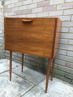 Record Cabinet 60's 70's Teak - Vintage Mid Century G Plan / Nathan