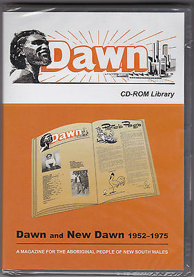 Dawn And New Dawn 1952 - 1975 - CD-Rom (State Library Brand New Sealed)