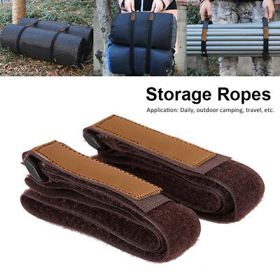 2X Durable Travel Luggage Strap Suitcase Baggage Belt Tie Outdoor Camping Hiking