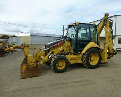 2008 CATERPILLAR 428E Backhoe Loader 4x4 Cab Ext Hoe Caterpillar Ready to Work