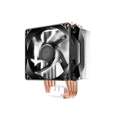 Coolermaster Hyper H411R Universal CPU Fan Air Cooler LED 4 Heat Pipes AM4 Suppo