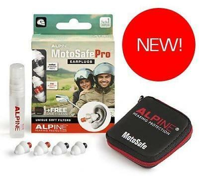 New Alpine Motosafe PRO Ear Plugs