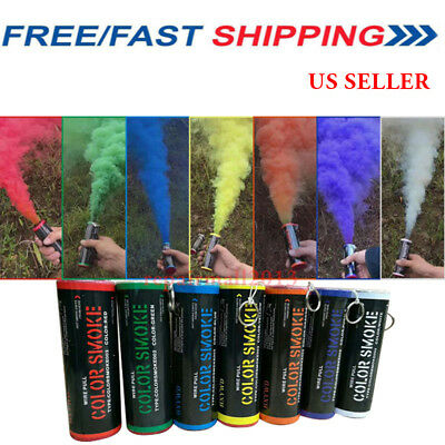 USA Smoke Photography Prop Pull Ring Smoke Effect Show Background Bomb Aid Toy