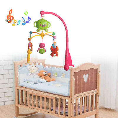 Baby Nursery Cot Mobile with Musical Soft Lullaby Music Play Soft Music