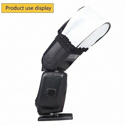 Universal Soft Flash Bounce Diffuser for Canon 580EX 430EX II/550EX/540EZ AZ