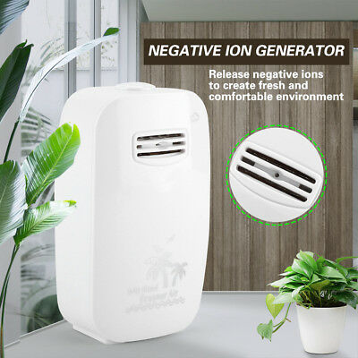 Mini Air Purifier Freshener Negative Ion Generator Portable Ionizer 110-240V