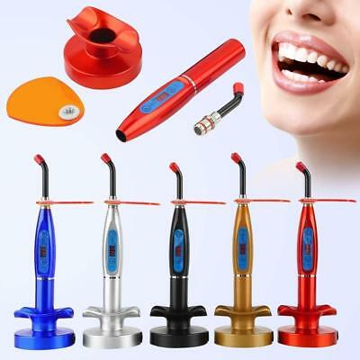 Dental LED Cure Lamp Wireless Cordless 5W 2000mW Curing Light Lamp Tools Kits FT
