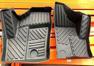 HEAVY DUTY ALL WEATHER FLOOR MATS -POLARIS RZR  900 1000 XP TURBO - Liners pair