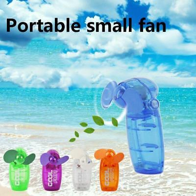 Mini Portable Pocket Fan Cool Air Hand Held Battery Travel Blower Cooler Desk FT