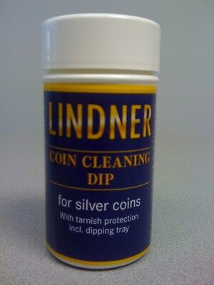 Silver Coin Cleaning Dip 375 ml Silverware & Jewelry Quality Cleaner Lindner