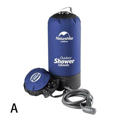 11L Portable Inflatable Outdoor Shower Bag Folding Barrel Camping Water_Storage&