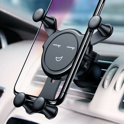 360° Cute Car Air Vent Mount Holder Cradle Stand for Cell Phone iPhone Universal