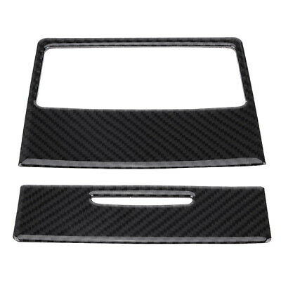 Carbon Fiber Car Rear Air Conditioning Outlet Panel Cover for BMW E90 320i 325i