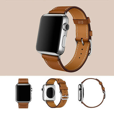 New-style  Leather Buckle Wrist Watch Band Strap For Apple Watch KY