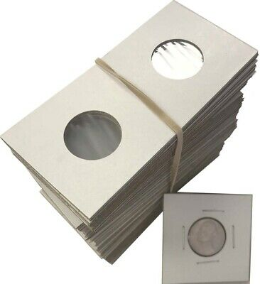 One Thousand 1000  Assorted Size-YOU PICK 2X2 Cardboard//Mylar Coin Holders Flips