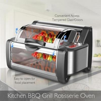 NUTRICHEF PKRTVG38 Countertop Rotisserie & Grill Oven - Rotating Cooker