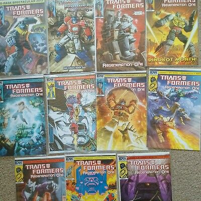 Transformers: Regeneration One #80 - 89 and 100 page special