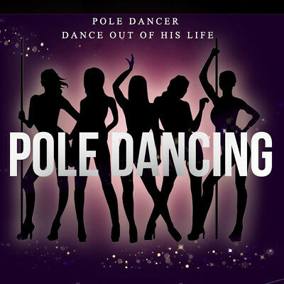 Profi 45mm Tanzstange Pole Dance Tabledance Strip Stange Dance Stahl DHL