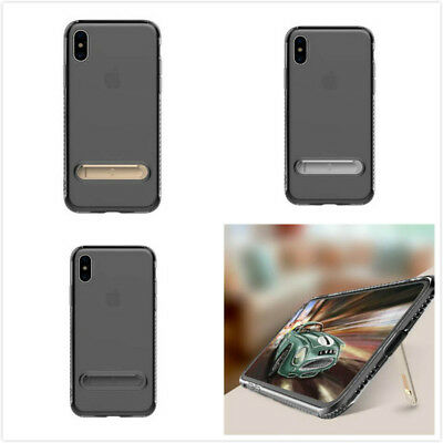 Transparent Shockproof Cover TPU Phone case Frame for iPhone 8 X'mas Gift Toys