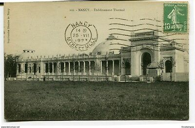CPA-Carte postale-France -Nancy - Etablissement Thermal - 1923 ( CP3994 )