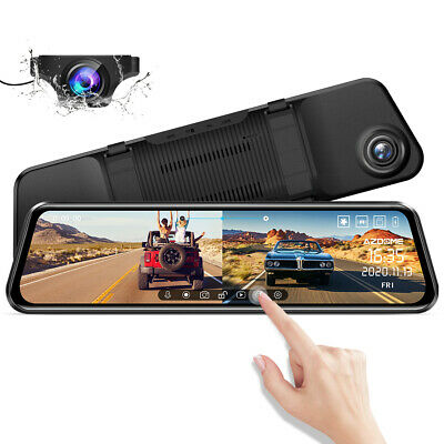 AZDOME Dash Cam DAB211 Ambarella A12 Car Camera DVRs with GPS Night Vision Video