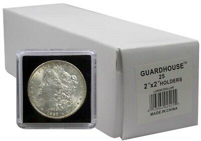 2x2 Snaplocks For US Large Dollar $ Coins 25 Guardhouse Tetra 31.8 Coin Holders