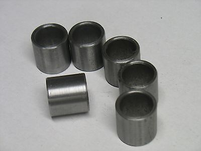 Metric Steel Bushings /Spacer/Sleeve 15 MM OD X 12 MM ID X 20 MM Long  50 Pcs