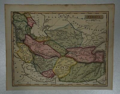 1814 J Russell  map of Persia