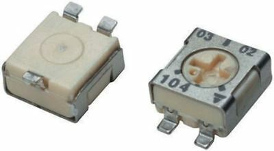 Vishay TS53YJ Series SMD Trimmer Resistor with J-Hook Terminations, 500Ω ±20%