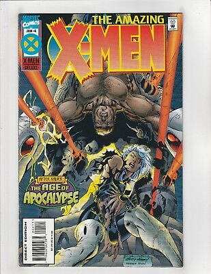 Amazing X-Men (1995) #4 VF/NM 9.0 Marvel Comics Age of Apocalypse,Storm,Bishop