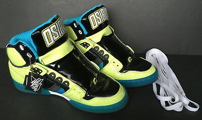 61161c658c Osiris Limited Edition Ryan Nyquist Skater Shoes Bronx NYC83 Size 10 High  Top