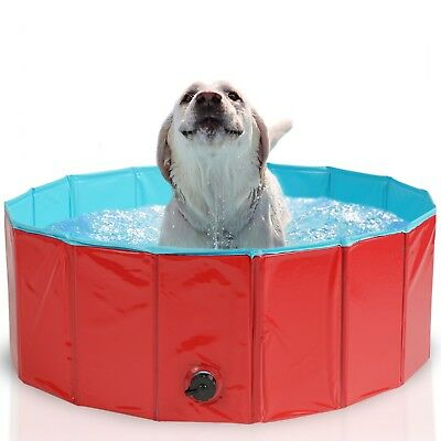 Dog Pool Bath Cat Puppy Pet Outdoor Indoor Portable Foldable Durable Sturdy