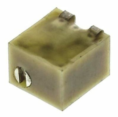 Bourns 3224W Series 12-Turn SMD Trimmer Resistor with J-Hook Terminations, 1kΩ